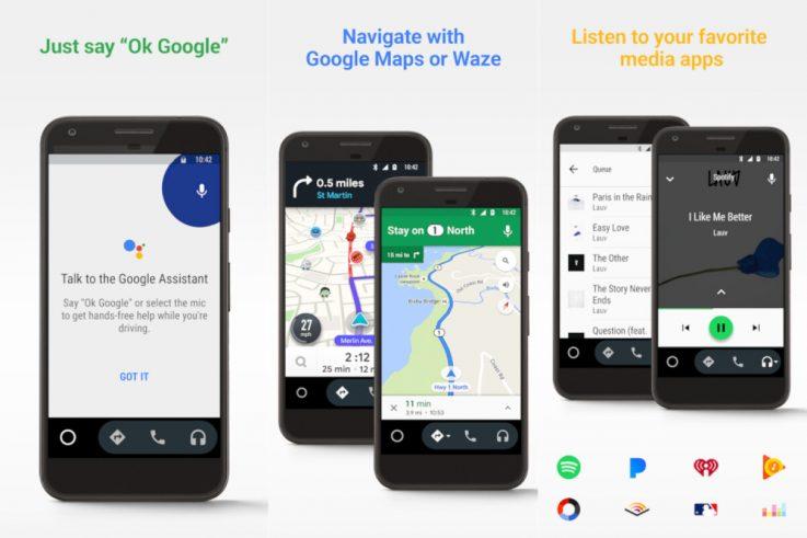 Android Auto na smartphone-u