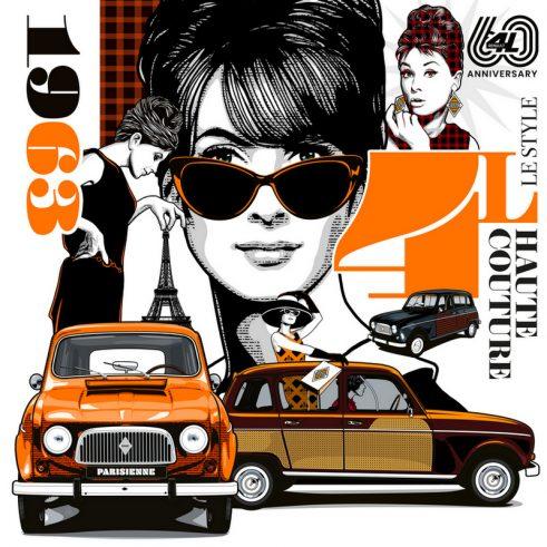 Renault 4L - 60 godina postojanja